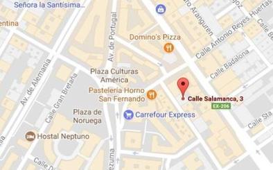 Una mujer de 73 años, herida leve tras ser atropellada en Cáceres