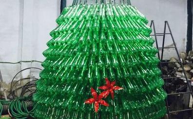 Vuelve la Navidad reciclada de Entrín Bajo
