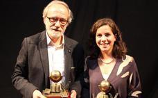 Sebastián Celestino y Esther Rodríguez reciben el Premio Luis Chamizo en Guareña