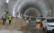 La obra del mayor túnel del AVE extremeño estará acabada antes de que acabe el año