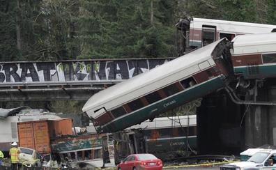 El tren descarrilado en EE UU casi triplicaba la velocidad permitida