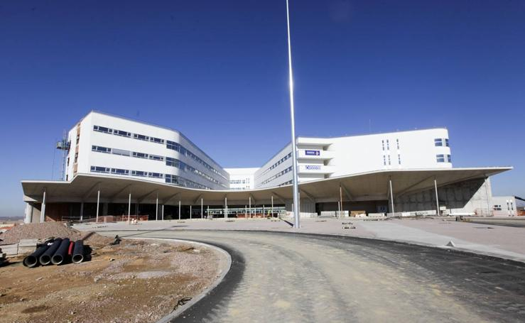 Visita a las obras del nuevo hospital de Cáceres