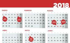El calendario laboral de 2018 en Extremadura tiene doce días inhábiles