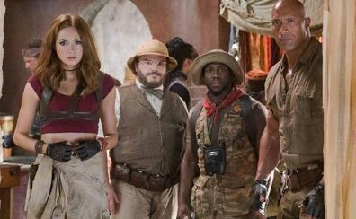 La secuela de 'Jumanji' comparte cartelera con lo nuevo de Woody Allen