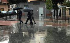 La lluvia vuelve a Extremadura el día de Navidad