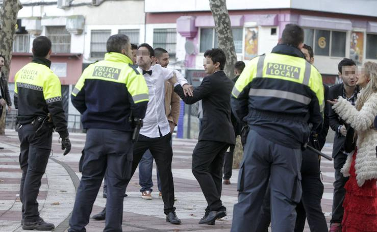 Incidentes en la Nochevieja de Cáceres