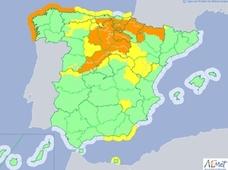 El norte de Extremadura estará en alerta este sábado debido a la nieve