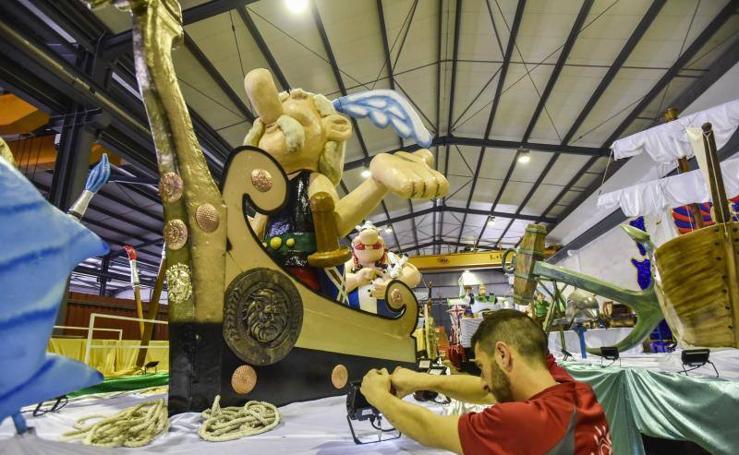 Últimos detalles para la cabalgata de Badajoz