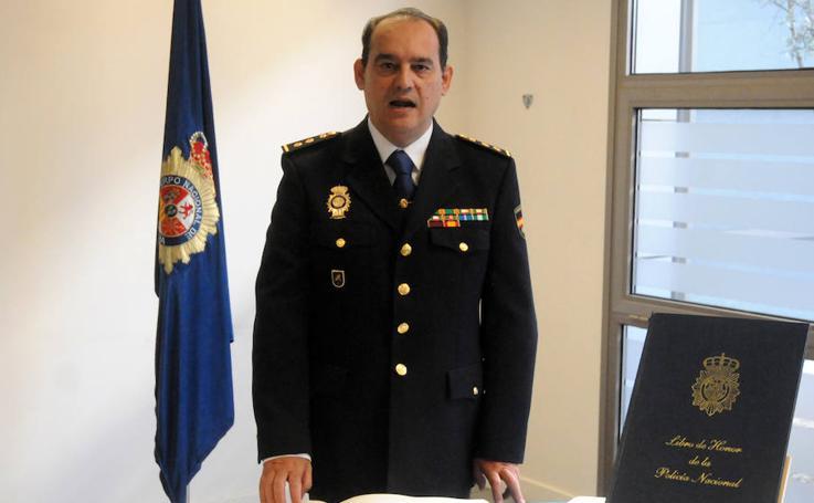 Aurelio Fernández Sánchez es el nuevo comisario de Policía Nacional