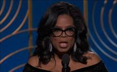 El contundente discurso de Oprah Winfrey en los Globos de Oro
