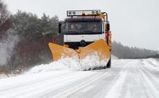 Se mantiene cerrado por la nieve el puerto de Honduras en Extremadura