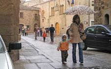 La provincia de Cáceres presenta un déficit de lluvia del 50%