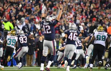 Brady ya sueña con su sexta Super Bowl