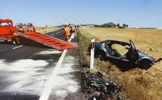 Proponen añadir rugosidad a la carretera 'de las torres' para evitar más muertes