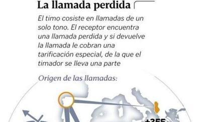 Alertan que el timo de la llamada perdida continúa en Extremadura