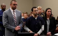 Nassar, condenado de 40 a 175 años de prisión por abusos sexuales
