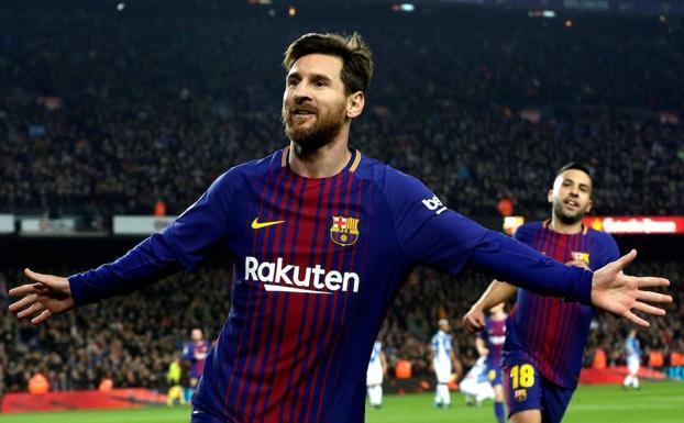 zapatos clasicos elige auténtico muy baratas Messi quiere la cuarta consecutiva para el Barça   Hoy