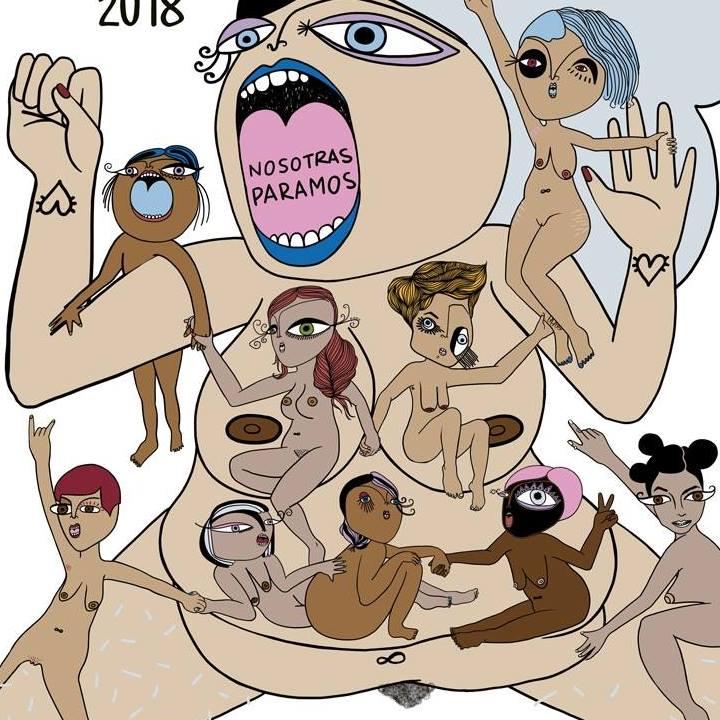 Diseños feministas de la ilustradora extremeña p.nitas