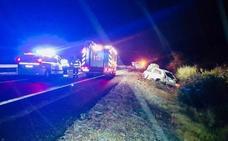 Tres muertos en una colisión múltiple en la AP-7 en Alicante a raíz de un intento de socorro
