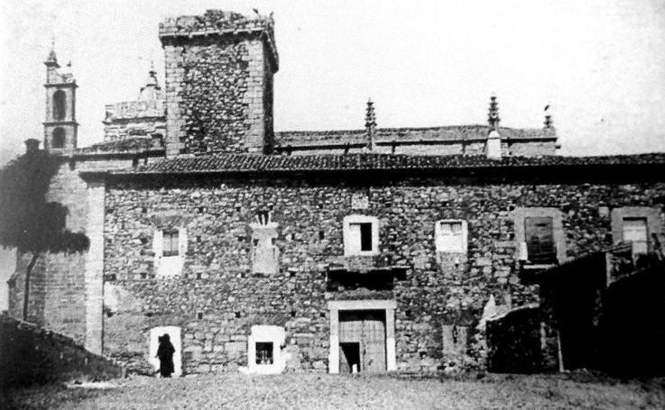 El Palacio de las Cigüeñas, en imágenes