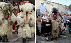 Las Carantoñas de Acehúche tienen su réplica en los Kúkeri búlgaros