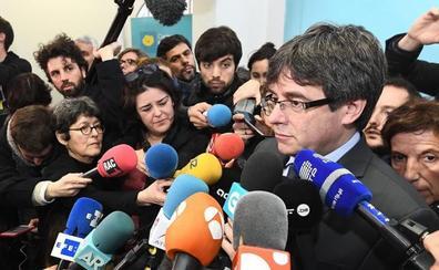 Puigdemont pide amparo a Torrent para poder ser investido
