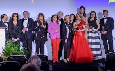 'Mujerhoy' entrega los premios a las mujeres más sobresalientes