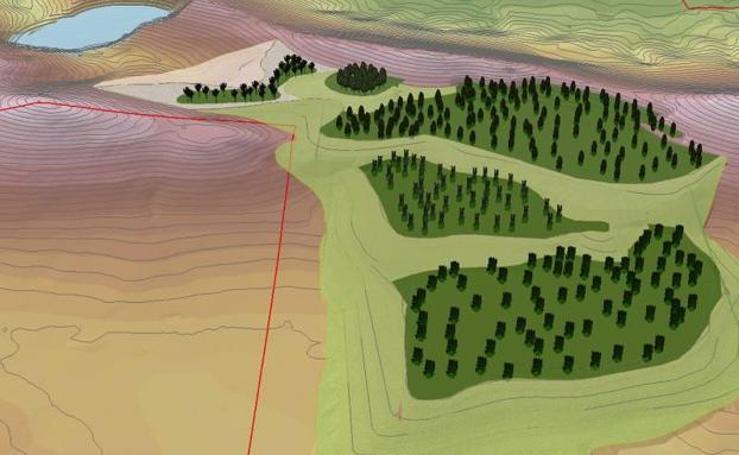 Proyecto de explotación de la mina de Valdeflores