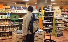 Los productos orgánicos se muestran en Madrid