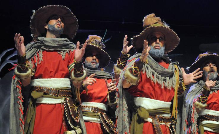 Tercera semifinal del concurso del Carnaval Romano