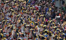 7.000 carnavaleros toman las calles