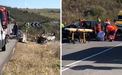 Una mujer de 42 años muere en una colisión frontal entre Moraleja y Perales del Puerto