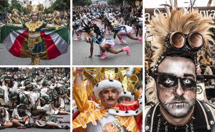 Desfile de comparsas del Carnaval de Badajoz (2)