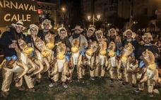La noche del sábado de carnaval hasta la bandera en Badajoz