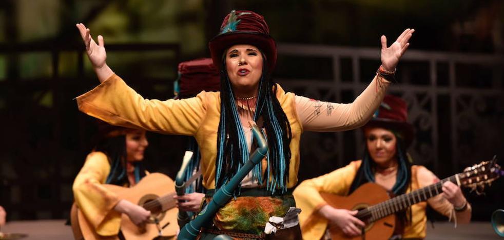 La murga Las Chimixurris ganan el premio A la Sátira del Carnaval