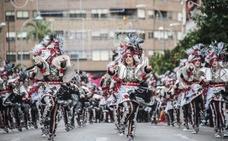 Desfile de comparsas del Carnaval de Badajoz (1)