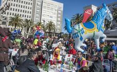 La afluencia de público aumentó el sábado durante el día y se redujo por la noche