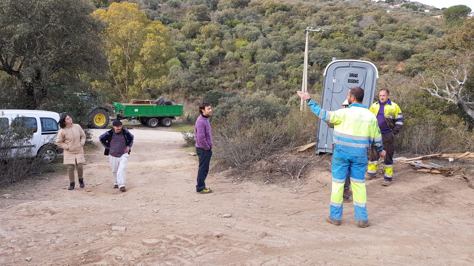 La Plataforma critica la «falta de diligencia» del Ayuntamiento de Cáceres para parar los trabajos en Valdeflores