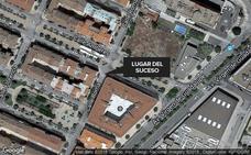 Dos heridos en una colisión entre un vehículo y una moto en Cáceres