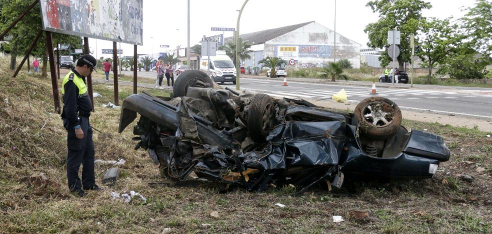 Un año de prisión para el conductor que causó un accidente en la feria de Cáceres de 2016