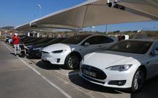 Los supercargadores Tesla, nuevo foco de atracción turística de Mérida
