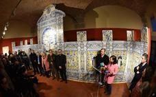 La azulejería de Santo Domingo luce en el Museo Catedralicio tras su restauración