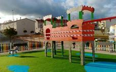 Nuevo parque infantil cerca de la calle Rufino Villalobos