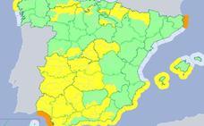 Extremadura estará en alerta amarilla por viento este jueves