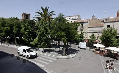 El Consorcio de Cáceres mejorará la accesibilidad en la plaza de San Juan
