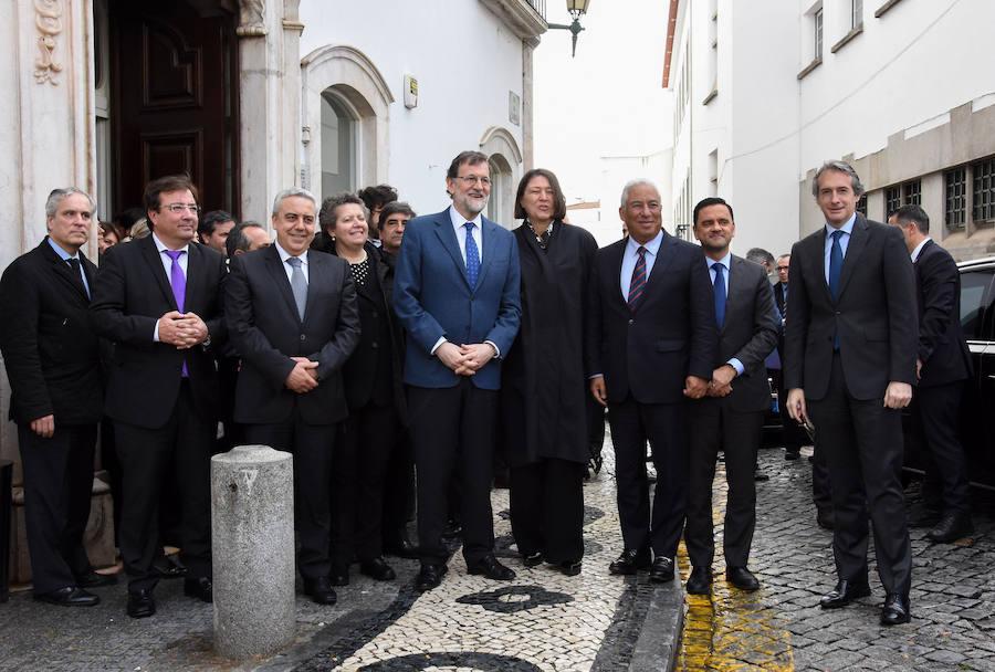 Visita de Mariano Rajoy a Badajoz y a Elvas