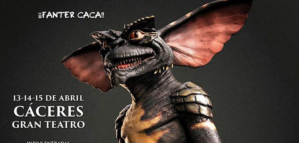 El Fanter Film, que se celebra en Cáceres del 13 al 15 de abril, rendirá tributo a los Gremlins