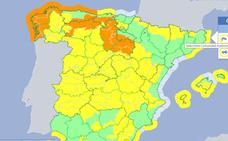 La borrasca Félix pone en alerta amarilla por lluvia, viento y nieve a Extremadura este fin de semana