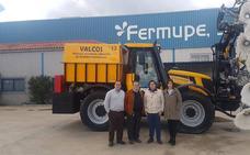 Fermupe exporta sus máquinas de limpieza de plantas solares