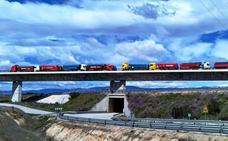 Cuatro viaductos del AVE en la provincia de Cáceres pasan el examen de carga